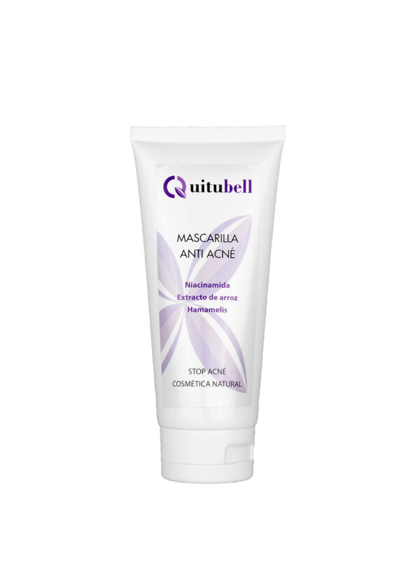 mascarilla antiacne natural quitubell
