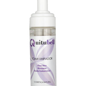 foam limpiador natural hialuronico aloe vera manzana quitubell