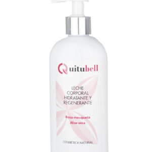 leche corporal hidratante regenerante natural quitubell