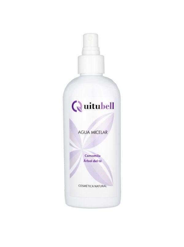 agua micelar cosmetica facial natural con arbol del te