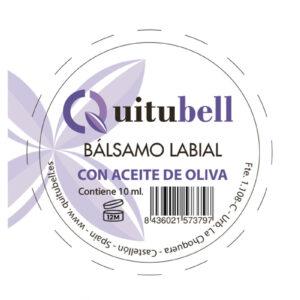 balsamo labial natural quitubell