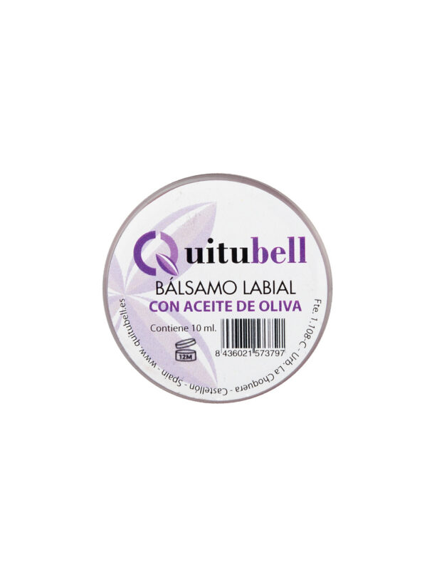 balsamo labial natural quitubell