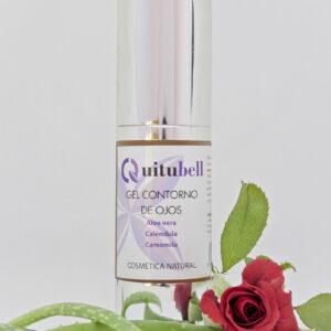 cosmetica facial gel contorno de ojos quitubell