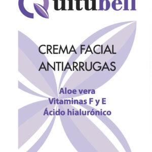 crema facial antiarrugas natural con aloe vera y acido hialuronico