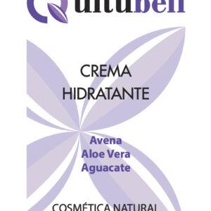 crema hidratante avena y aloe vera con aguacate natural