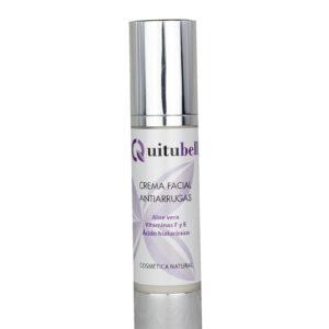 hidratante facial antiarrugas con acido hialuronico y vitaminas