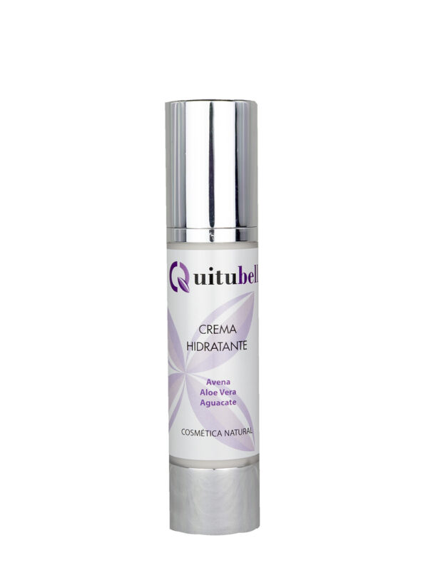 crema hidratante juvenil cosmetica natural facial avena aloe vera