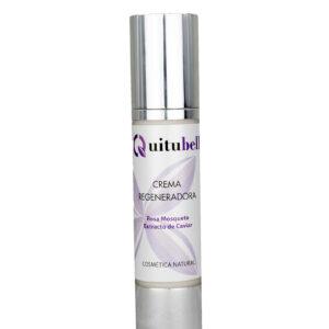 crema regeneradora con caviar y rosa mosqueta natural quitubell
