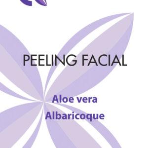 peeling facial cosmetica