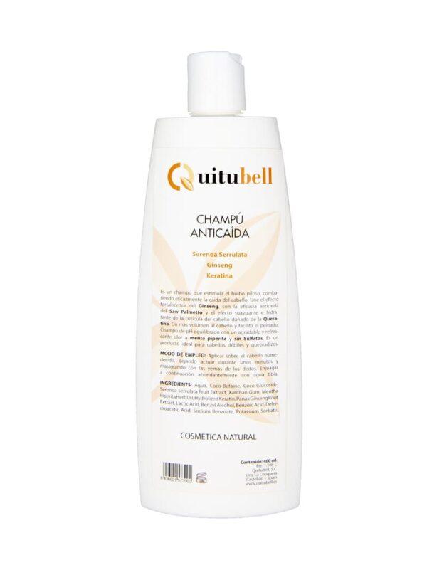 champu anticaida sin sulfatos sin parebenos quitubell