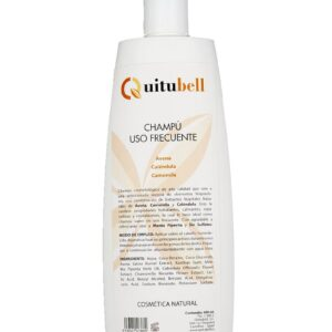 champu uso frecuente sin sulfatos sin parabenos quitubell